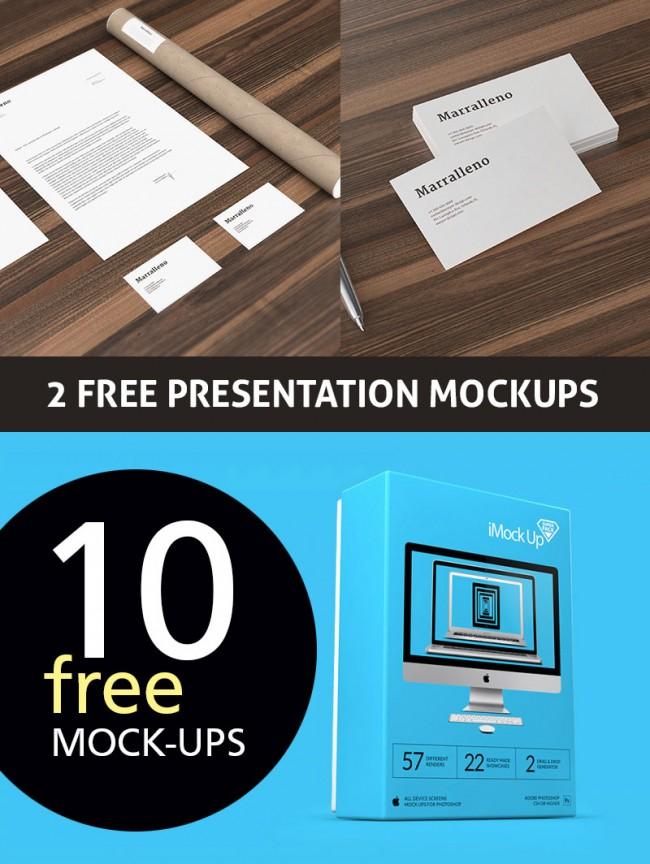 fp 650x864 12 Free Presentation Mock ups