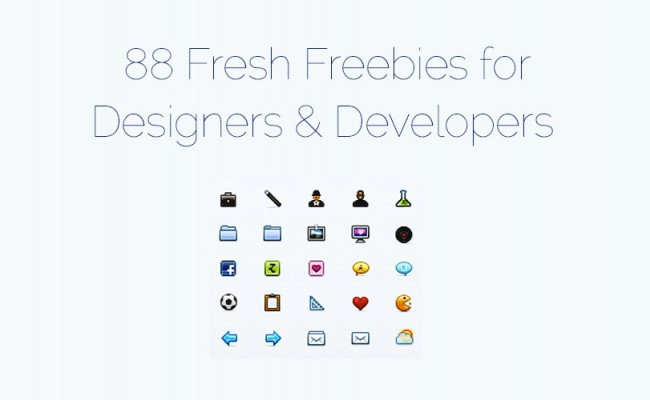 freebies 650x400 88 more free web resources for designers and developers