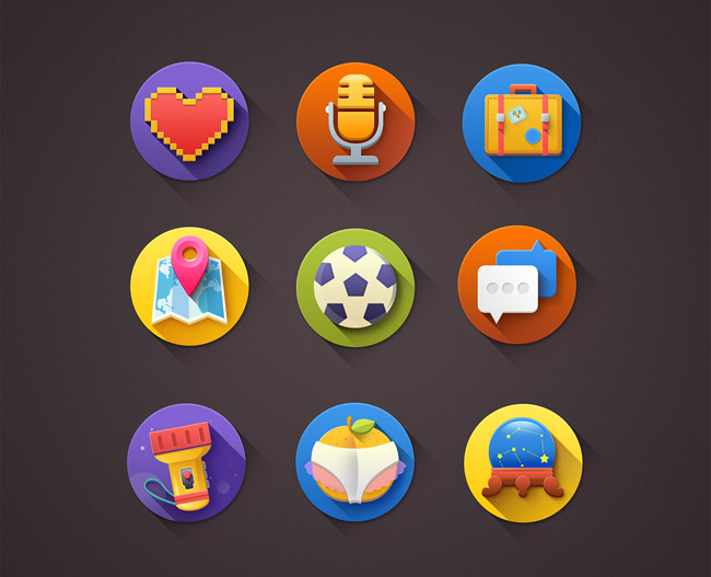icon august 2014 01 20 Free New Icon Sets for August 2014