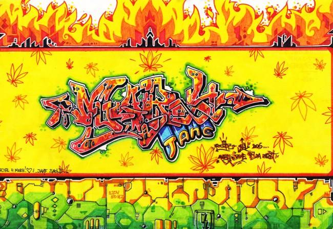 img036 650x448 Owl  Fatcaps   graffiti artist