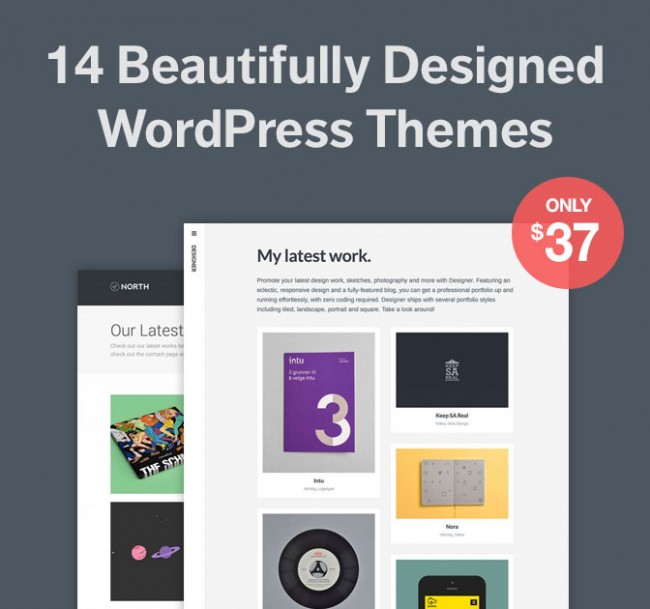 md5 650x609 14 Minimalist Responsive WordPress Themes by Array   only $37!