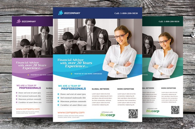 Free Corporate & Presentation Flyer Templates | Design That Sticks