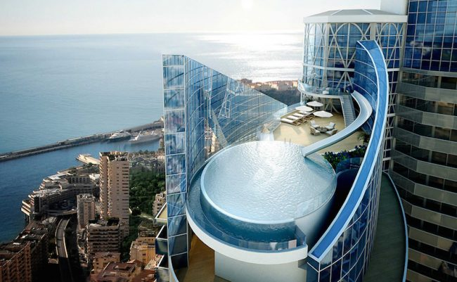 sky penthouse monaco 01 650x401 World's most expensive Penthouse: Tour Odeon in Monaco for sale
