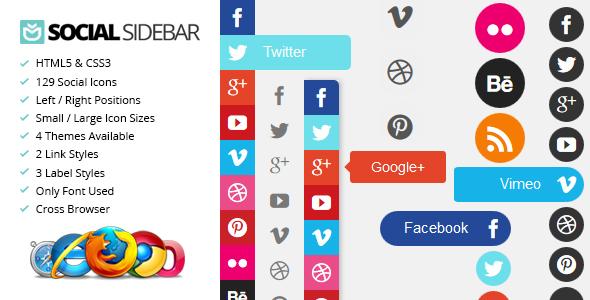 social sidebar Social Sidebar