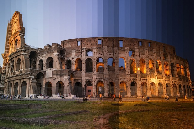 time slice richard silver 01 650x433 Time Sliced: Famous World Locations captured through different times of the Day by Richard Silver