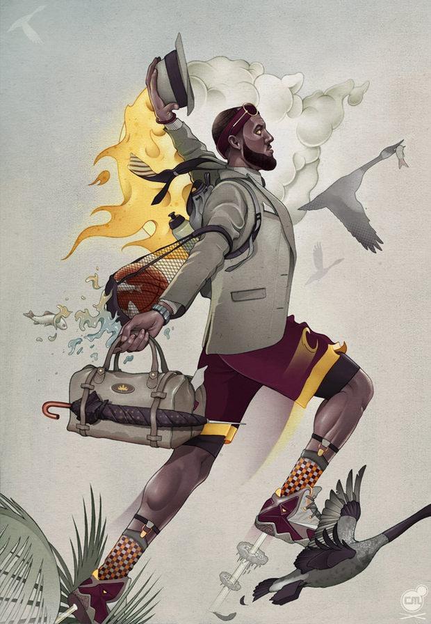 001 digital illustrations chris murray Digital Illustrations by Chris B. Murray