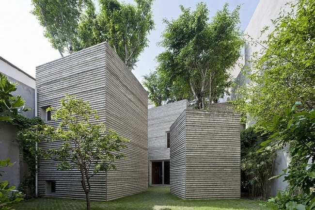 001 house trees vo trong nghia architects 650x433 House for Trees by Vo Trong Nghia Architects