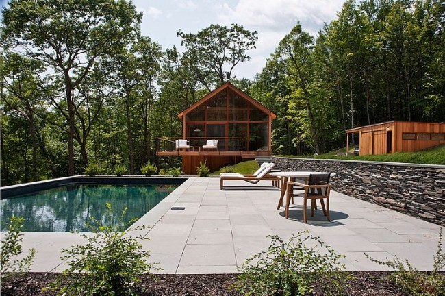 001 hudson woods lang architecture 650x432 Hudson Woods by Lang Architecture