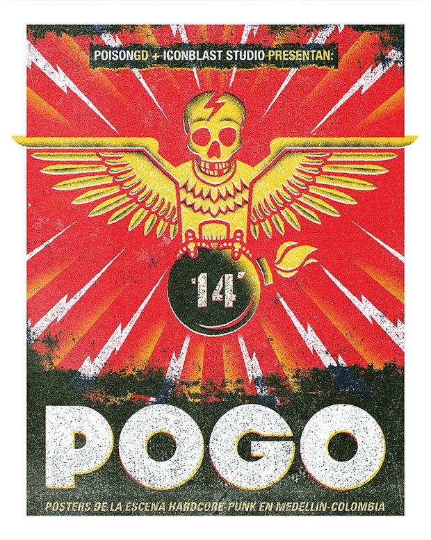 001 pogo hardcore punk posters iconblast studio Pogo. Hardcore Punk Posters by Iconblast Studio