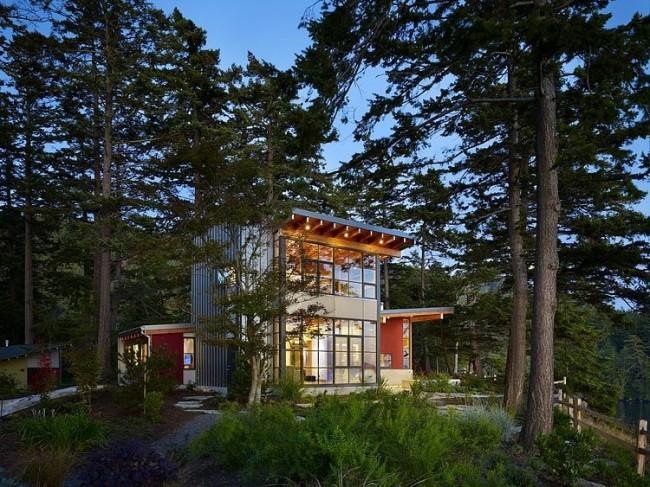 002 davis residence miller hull 650x487 Davis Residence by Miller Hull