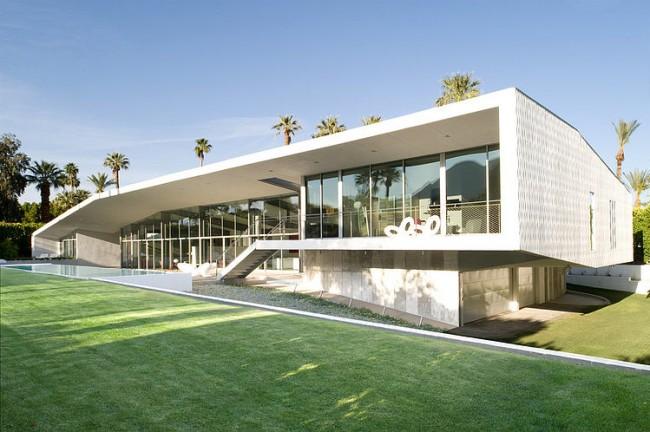 002 desert canopy house sander architects 650x432 Desert Canopy House by Sander Architects