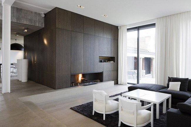 004 modern home guillaume da silva 650x433 Modern Home by Guillaume da Silva