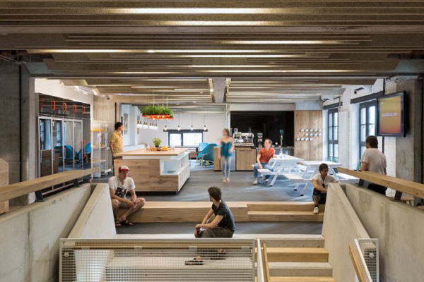 1138 SoundCloud Headquarters by KINZO