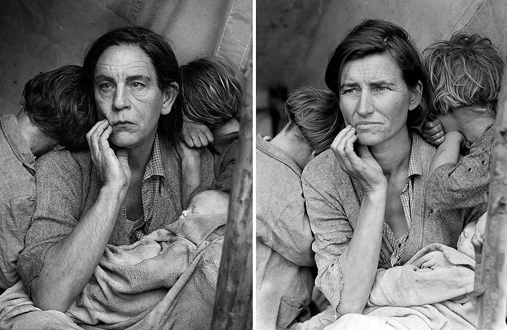 1157 Photographer Recreates Iconic Photos With John Malkovich As The Main Subject