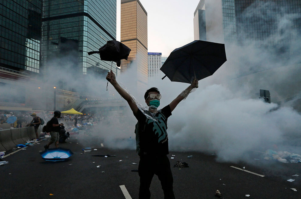 1187 Hong Kong Demands Democracy