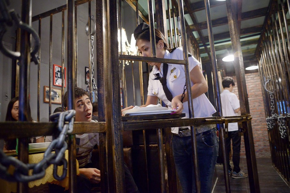 1194 A Prison Themed Restaurant in China
