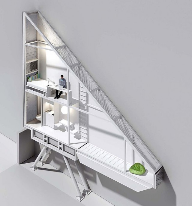 1351768872 2 640x684 Worlds Narrowest House