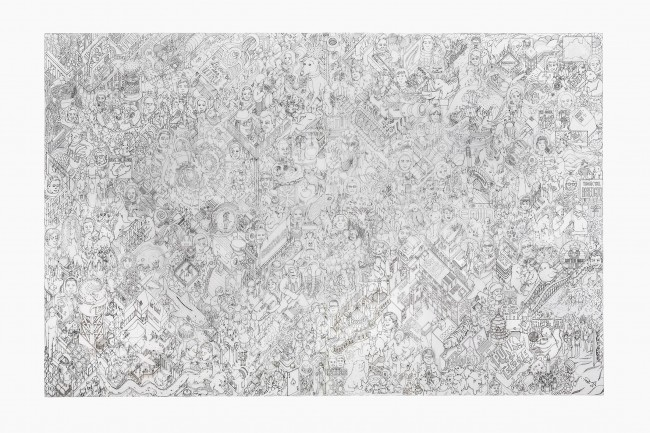 1Original drawing 650x433 Webs largest crowdsourced artwork