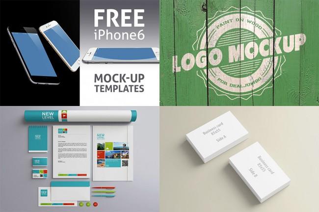4fm 650x432 4 new & free presentation mock up items on Dealjumbo