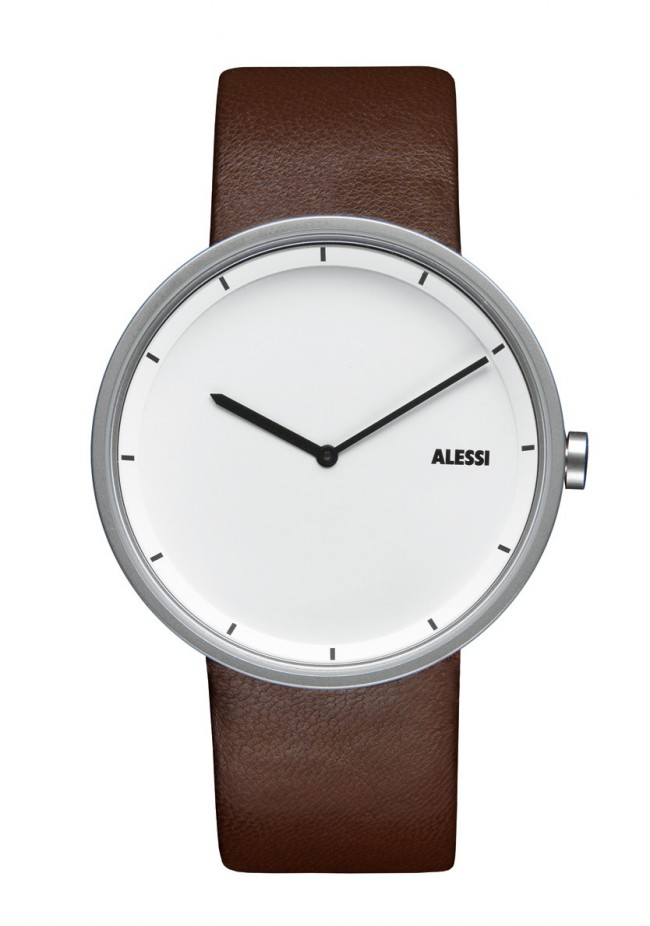 Alessi Men's AL13001 650x926 Simplicity is Beauty: 15 Beautiful Watches for Minimalists