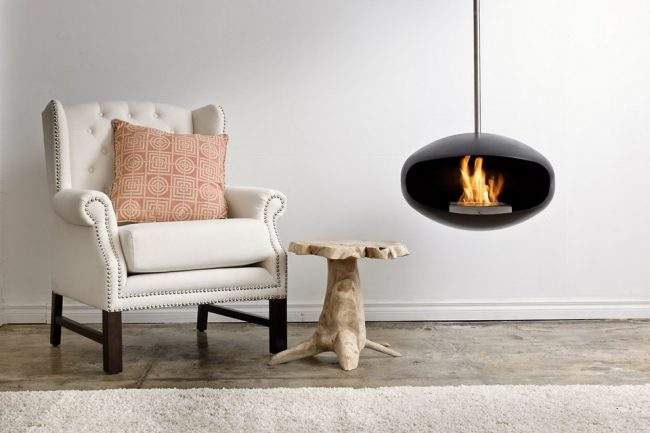 Cocoon Fireplace 4 650x433 Cocoon Fireplaces