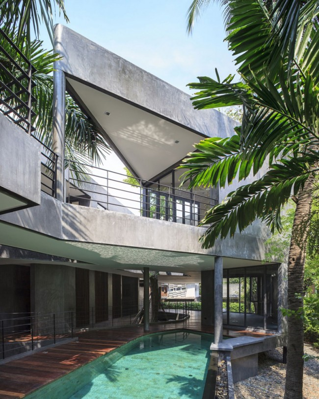 Divergence House designrulz 3 650x812 Divergence House With Captivating Views and Natural Surroundings, Bangkok, Thailand