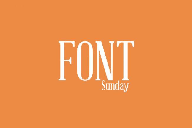 Font Sunday Thumb 650x433 Font Sunday