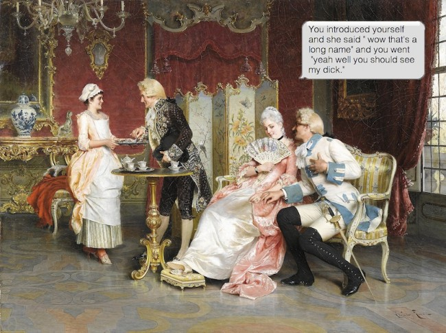 If Paintings Could Text Classic Artworks Paired With Funny Text Messages 2014 01 650x485 If Paintings Could Text   Classic Artworks Paired With Funny Text Messages