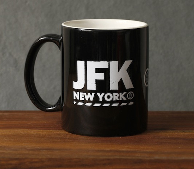 JFK Mug by Pilot and Captain 01 Daily Gadget Inspiration #206