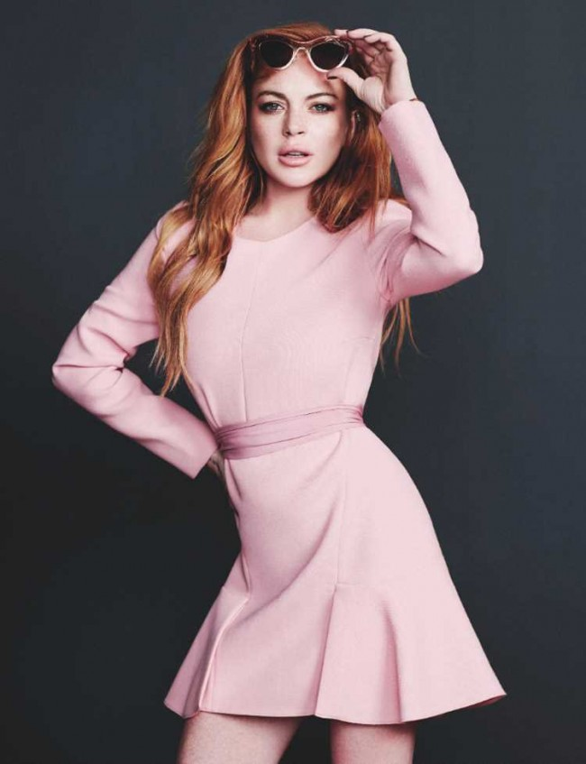 Lindsay Lohan by Alex Sainsbury 650x847 Lindsay Lohan by Alex Sainsbury