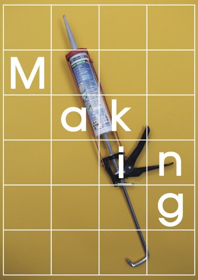 Making Poster Glue Gun 650x919 Live Making for The London Design Festival