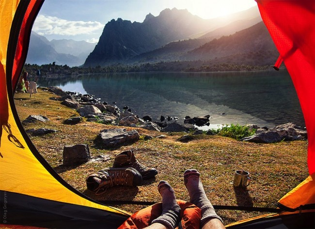 """Morning Views From The Tent Beautiful Images from the Fann Mountains of Tajikistan 2014 01 650x473 """"Morning Views From The Tent"""" – Beautiful Images from the Fann Mountains of Tajikistan"""