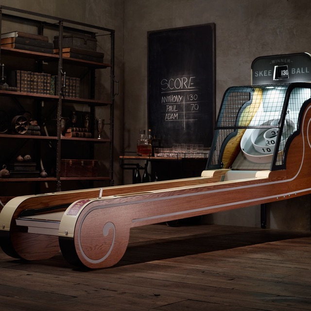 Vintage Arcade Skeeball Game 01 Daily Gadget Inspiration #191