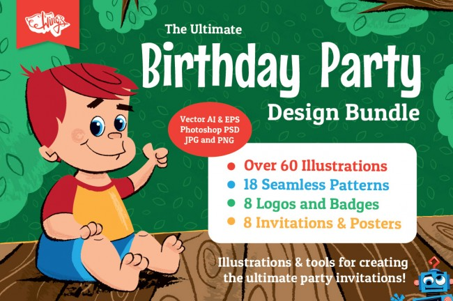 Wings Ultimate Birthday Party Bundle 650x432 The Ultimate Birthday Party Bundle