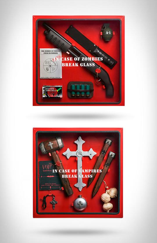 anti monster emergency kits large Anti Monster Emergency Kits