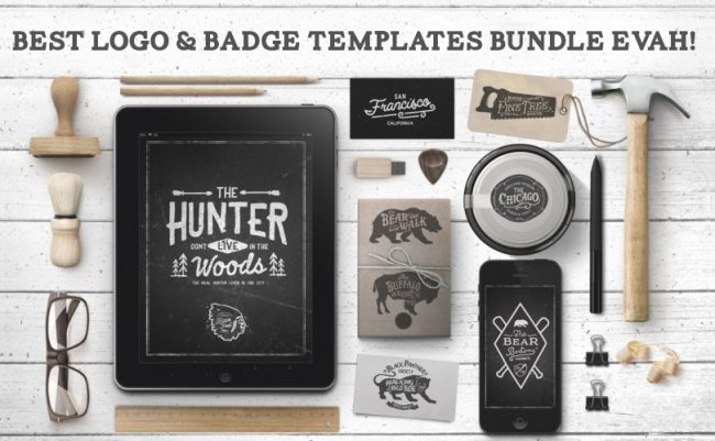 evah 650x401 549 logo, badge & insignia templates for 85% off