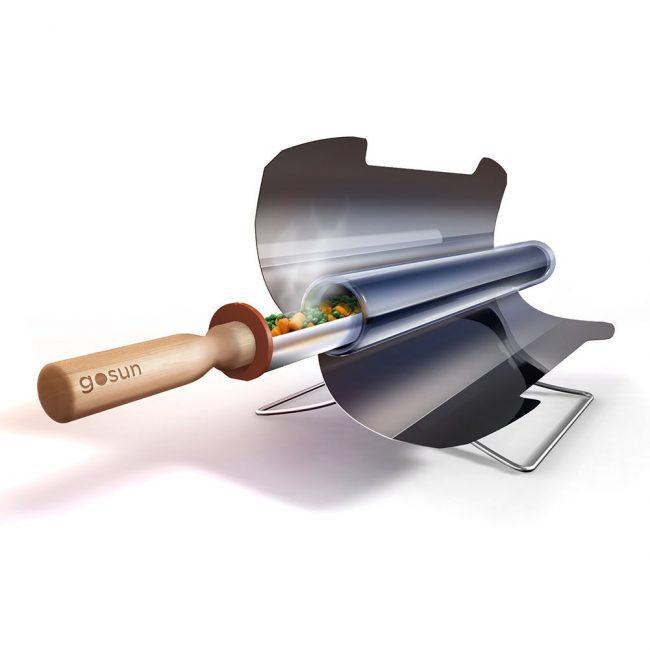 fuel free solar stove 01 650x650 Fuel Free Solar Stove