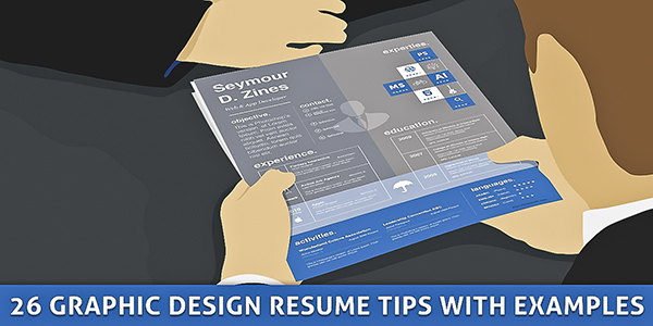 graphic design resume tips samples 600w 20+ Inspirational Graphic Design Resume Tips & Samples
