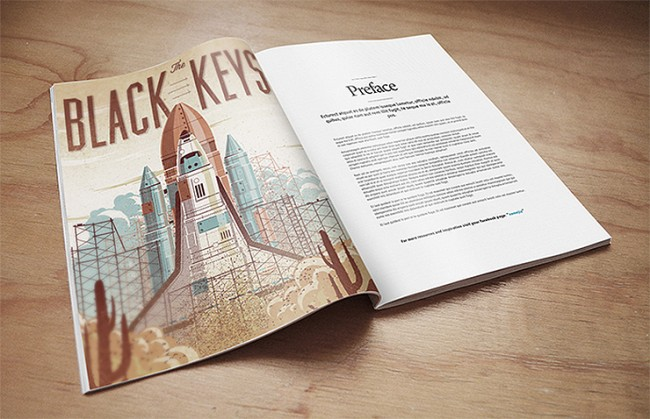 magazine mock 2 650x419 15 Useful and Realistic Book Mock Up PSD Downloads (Free)