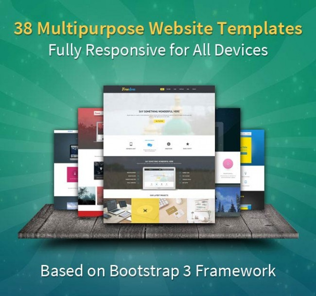 md8 650x609 38 Bootstrap 3 Templates from B3Themes   only $24!