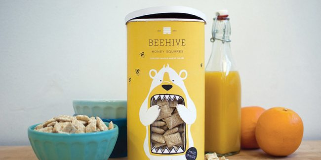 packagingdesigns beehive 650x325 20 Contemporary Packaging Designs Exhibiting the Modern Style of Product Branding