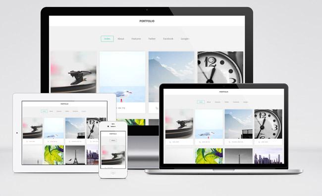 portfolio 01 Portfolio : Free Simple WordPress Theme for Designer