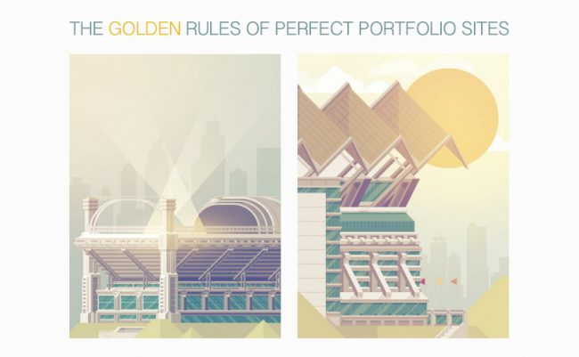 portfolio websites 650x401 7 golden rules of perfect portfolio websites