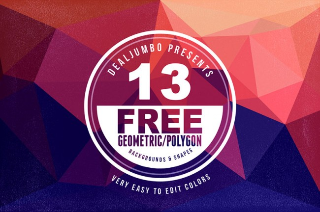 previewfree 650x432 13 Free Geometric Backgrounds/Shapes