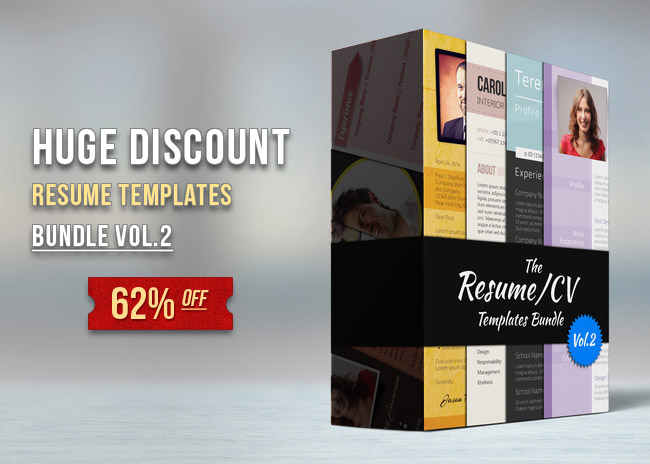 resume bundle 650 Premium Resume Bundle Vol.2