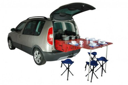 roombox camper car kit 01 450x300 RoomBox: Modular Camper Car Kit