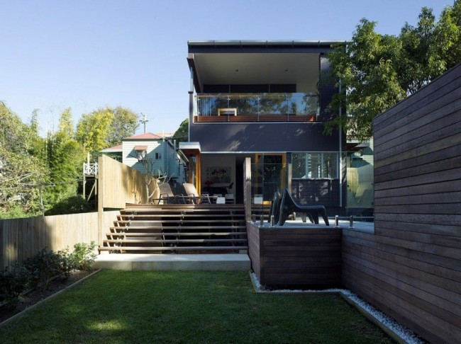 tim stewart bowler house everythingwithatwist 00 650x486 Bowler House, Paddington, Queensland, Australia