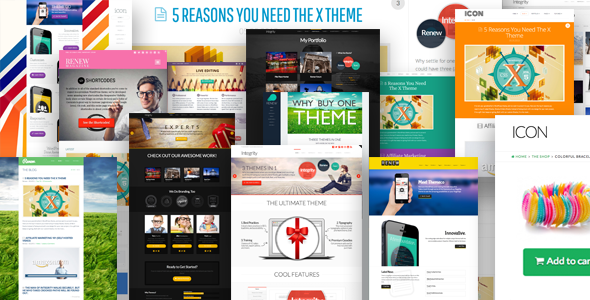 x preview.  large preview Top 10 WordPress Themes in 2014