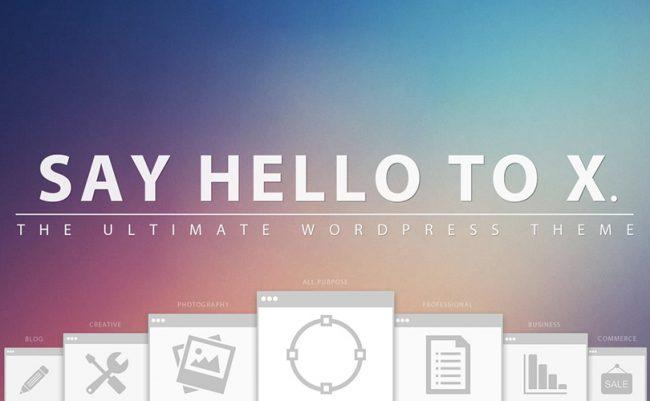 x wordpress theme 650x401 X WordPress theme review – 2014