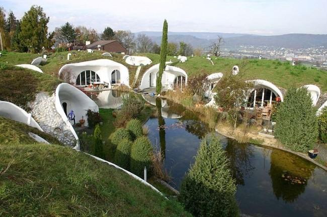 001 earth house estate vetsch architektur 650x433 Earth House Estate by Vetsch Architektur